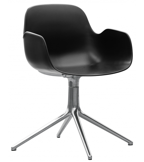 Form Normann Copenhagen Swivel Armchair