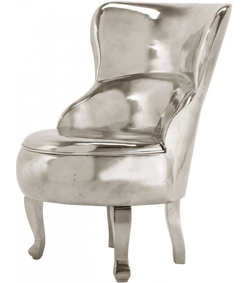 sellerina aluminium baxter armchair milia shop. Black Bedroom Furniture Sets. Home Design Ideas