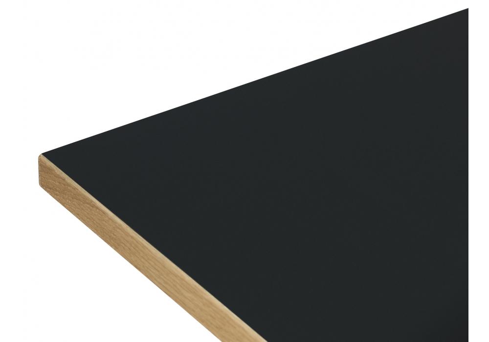Slice linoleum normann copenhagen tisch milia shop for Linoleum schwarz