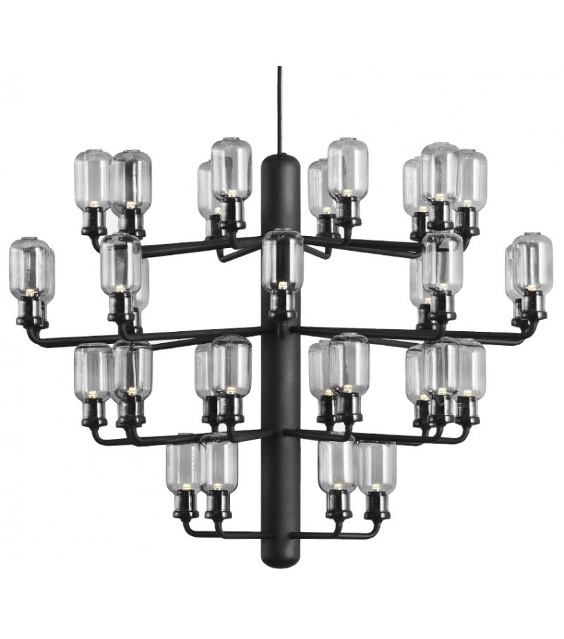 amp chandelier normann copenhagen pendant lamp milia shop. Black Bedroom Furniture Sets. Home Design Ideas