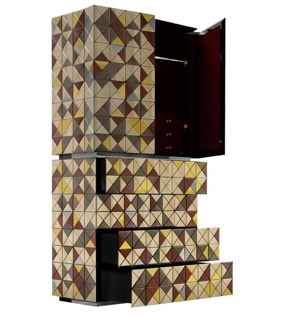 Pixel Anodized Boca Do Lobo Mueble Contenedor