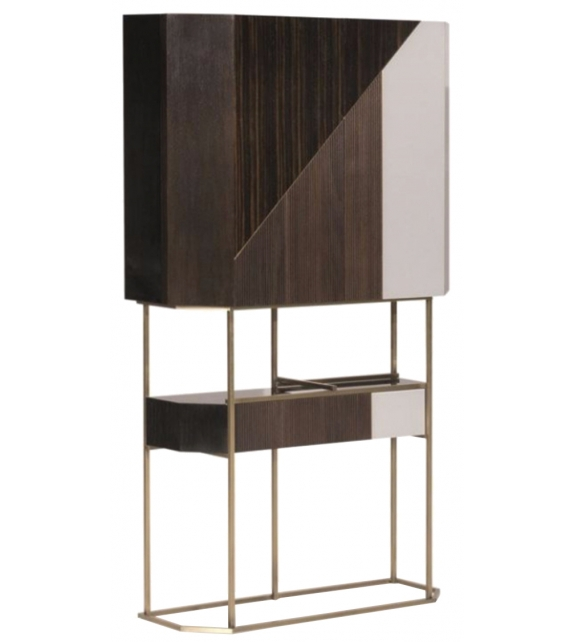 Wireframe Baxter Bar Cabinet