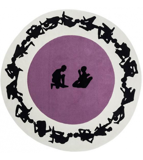 Human Circle: Paradiso Nodus Rug
