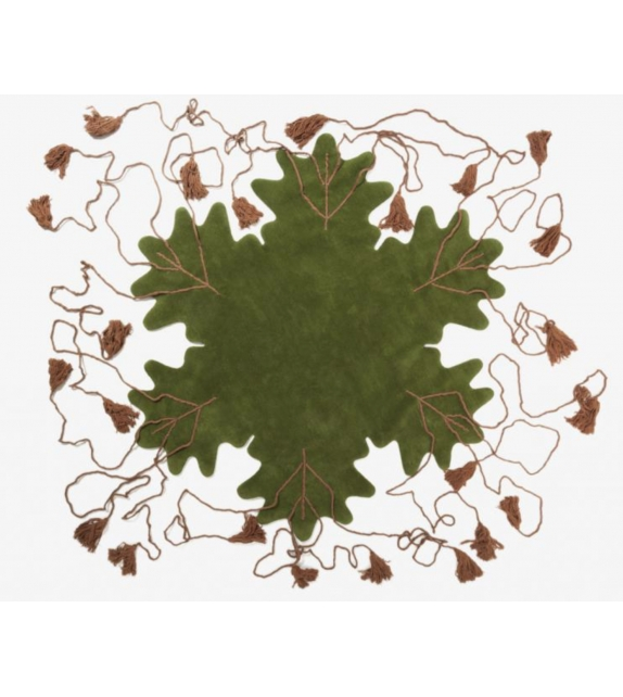 Big Leaf Nodus Rug