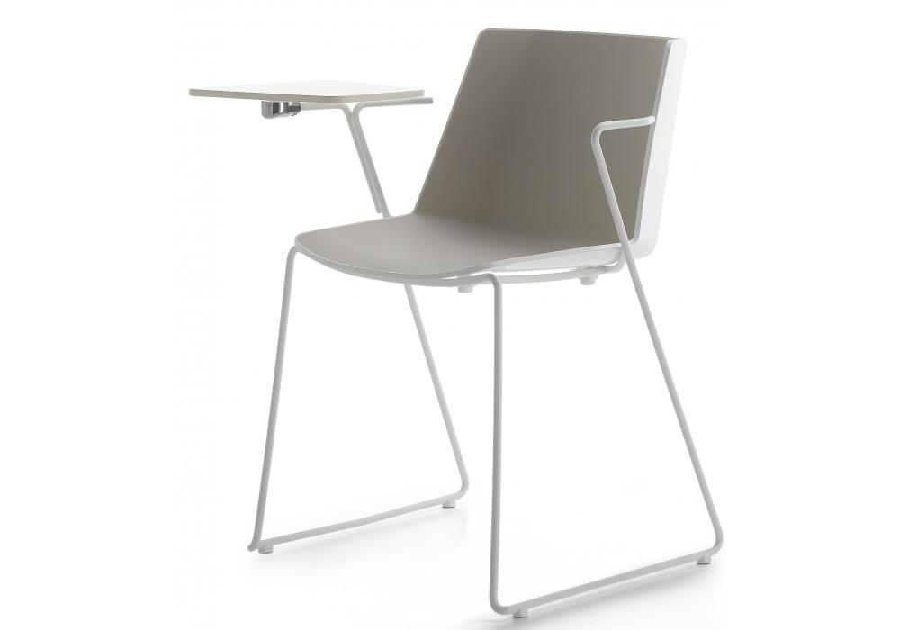 AÏKU MDF Italia Chair With Sled Base - Milia Shop