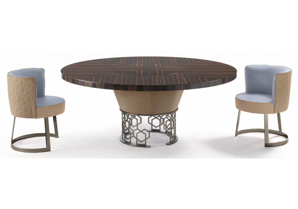 Strange Clairmont Longhi Table With Rotating Tray Milia Shop Ocoug Best Dining Table And Chair Ideas Images Ocougorg