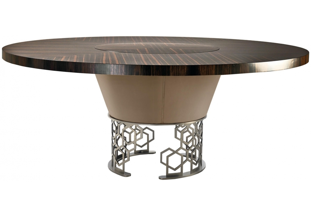 Stupendous Clairmont Longhi Table With Rotating Tray Milia Shop Ocoug Best Dining Table And Chair Ideas Images Ocougorg