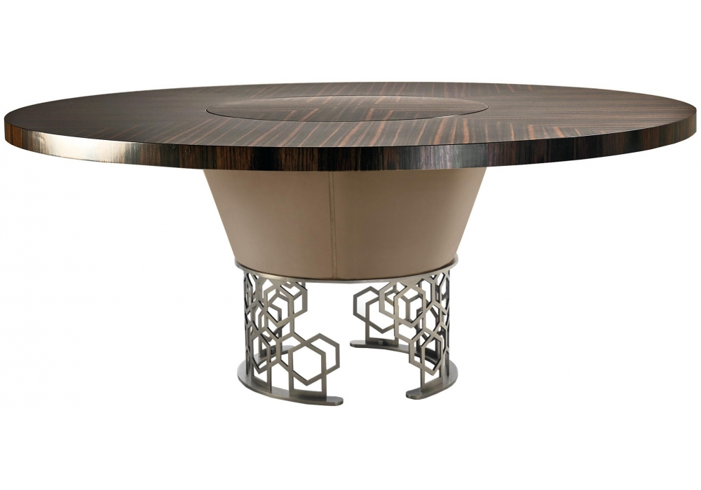 Fine Clairmont Longhi Table With Rotating Tray Milia Shop Ocoug Best Dining Table And Chair Ideas Images Ocougorg