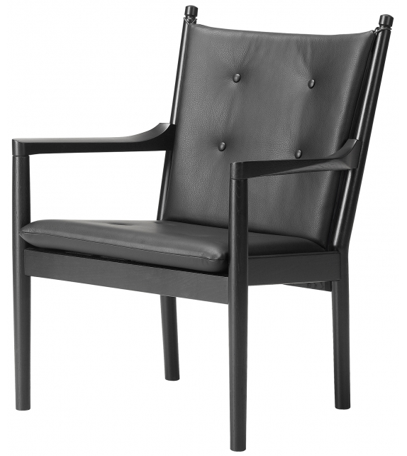 Spoke-Back Fredericia Lounge Chair 1788