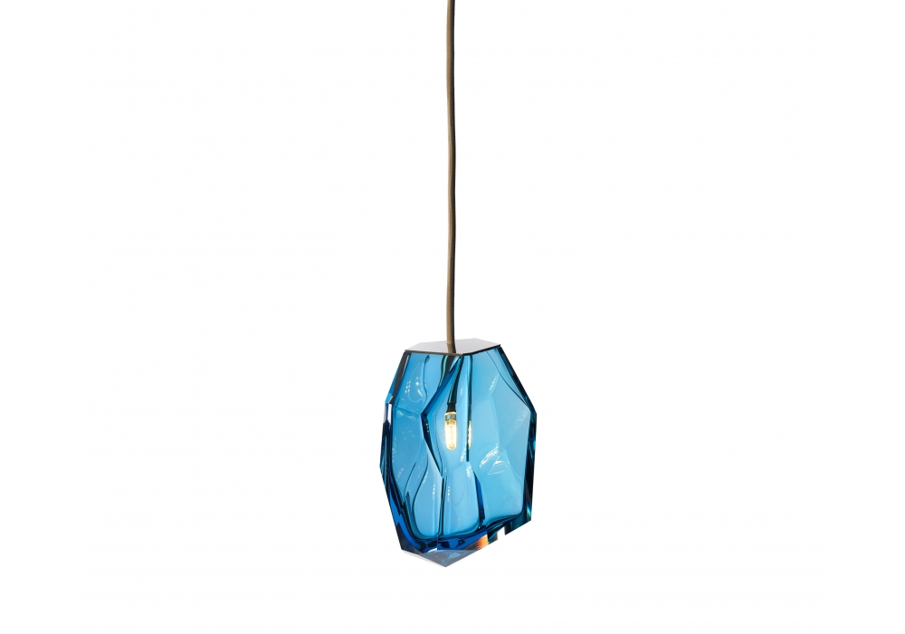Amber Glass Bathroom Accessories