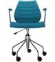 Maui Soft Kartell Chair on Wheels