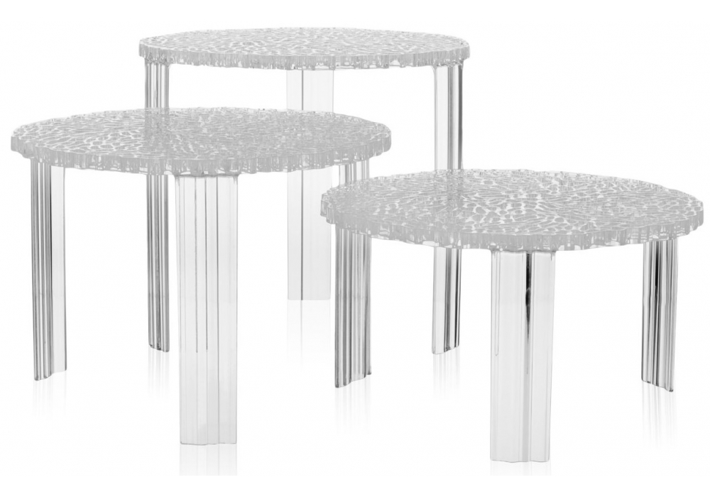 T table tavolino kartell milia shop for Tavolino da salotto kartell