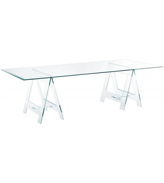Don Cavalletto Tisch Glas Italia