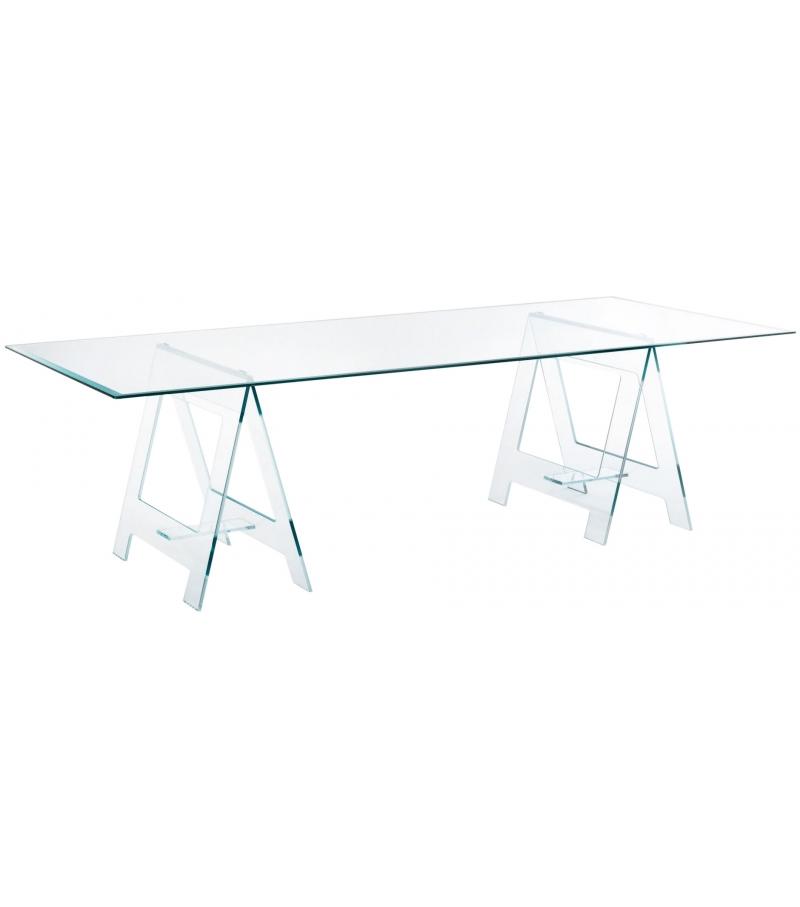 Don cavalletto tavolo glas italia milia shop - Cavalletto tavolo ...