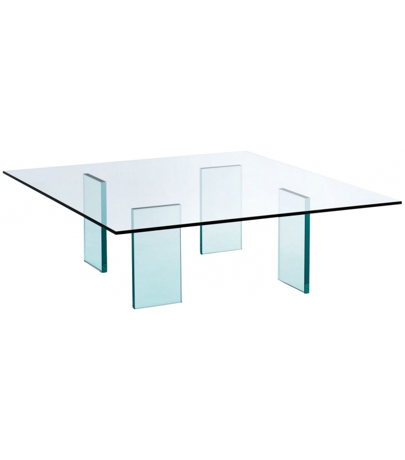 Glass table (1976) Low Table Glas Italia