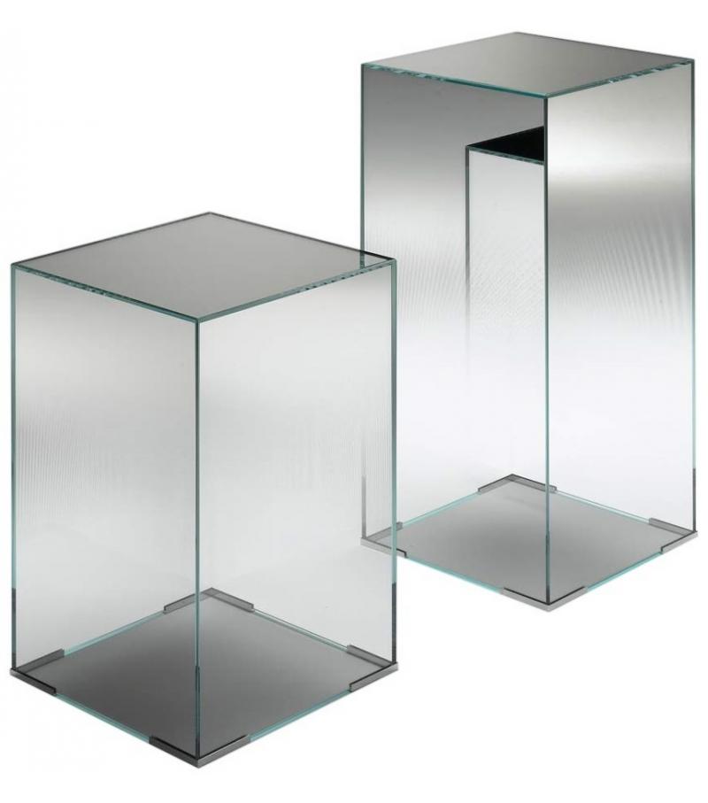 illusion beistelltische glas italia milia shop. Black Bedroom Furniture Sets. Home Design Ideas