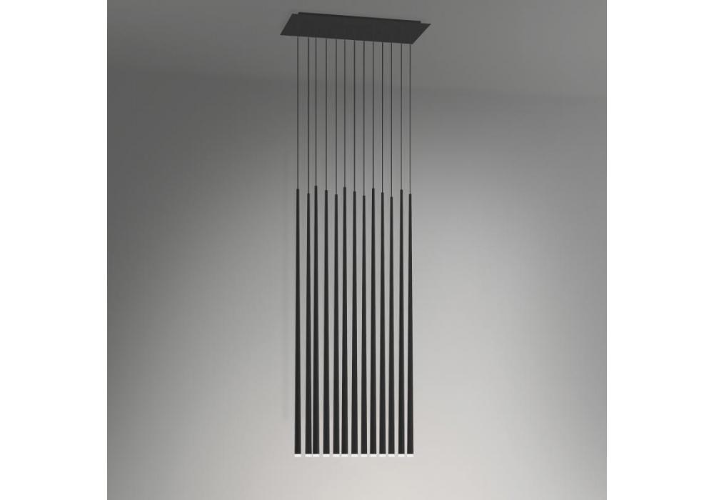 Slim 13 Led Hanging Lamp Vibia Milia
