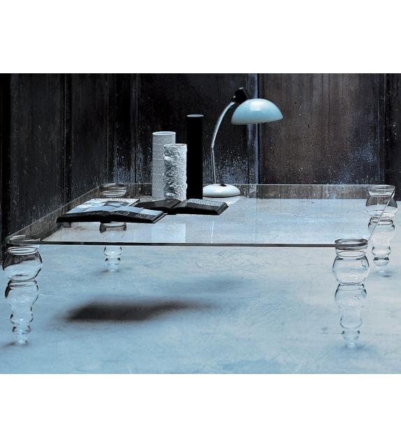 Post Modern Couchtisch Glas Italia