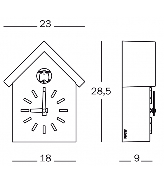 cu clock milia shop. Black Bedroom Furniture Sets. Home Design Ideas