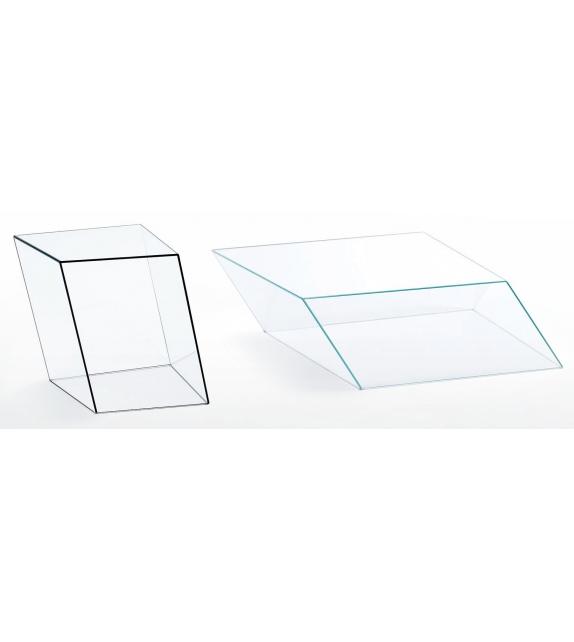 Wireframe Couchtisch Glas Italia