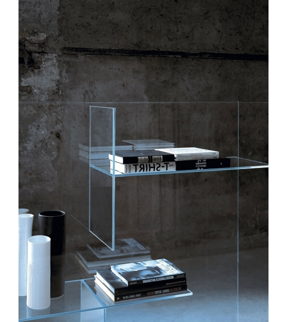 Transfix Glas Italia Bookshelf