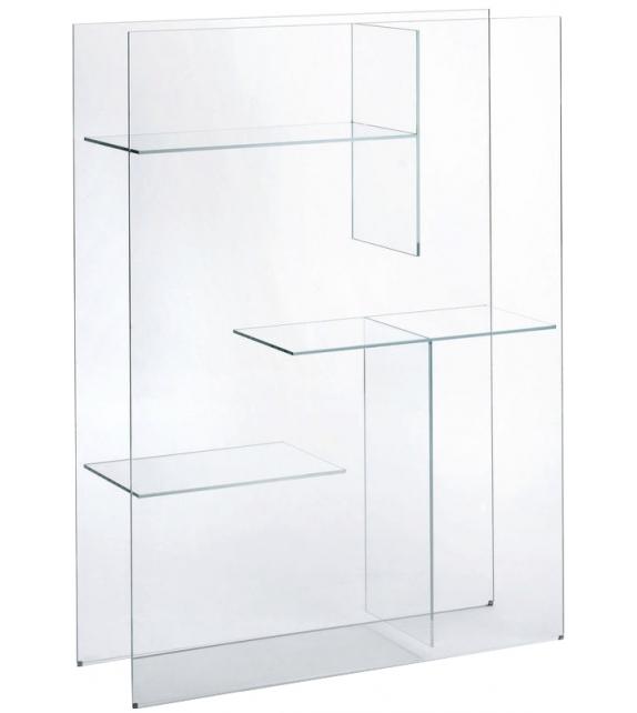 Transfix Glas Italia Bücherregal