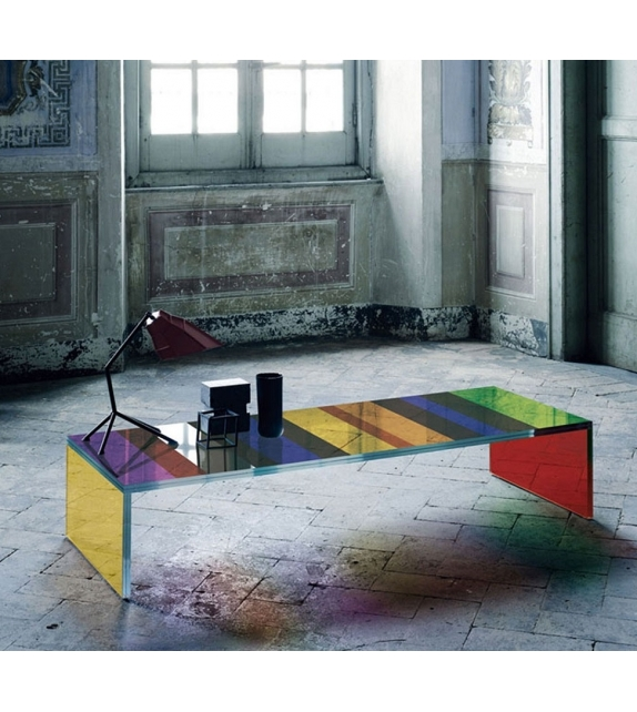 The Dark Side of the Moon Low Table Glas Italia