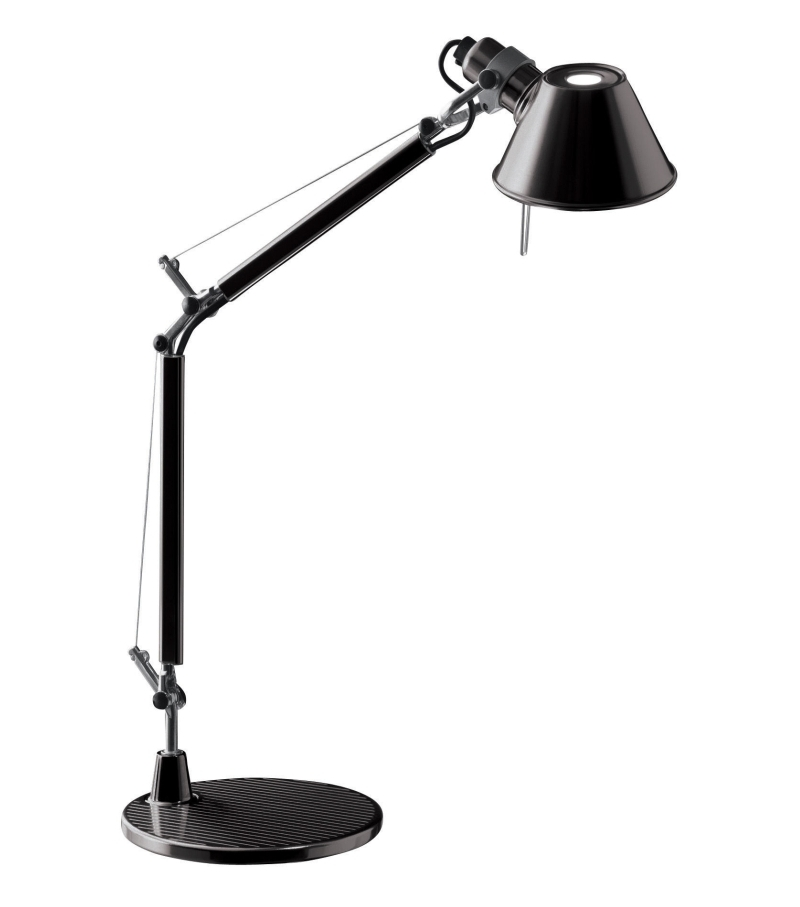tolomeo micro artemide lampada da tavolo con base milia shop. Black Bedroom Furniture Sets. Home Design Ideas