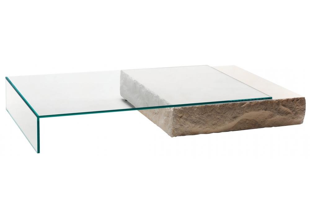 terraliquida niedriger tisch glas italia milia shop. Black Bedroom Furniture Sets. Home Design Ideas