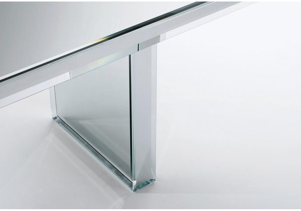 prism mirror table glas italia milia shop prism table mn design touch of modern