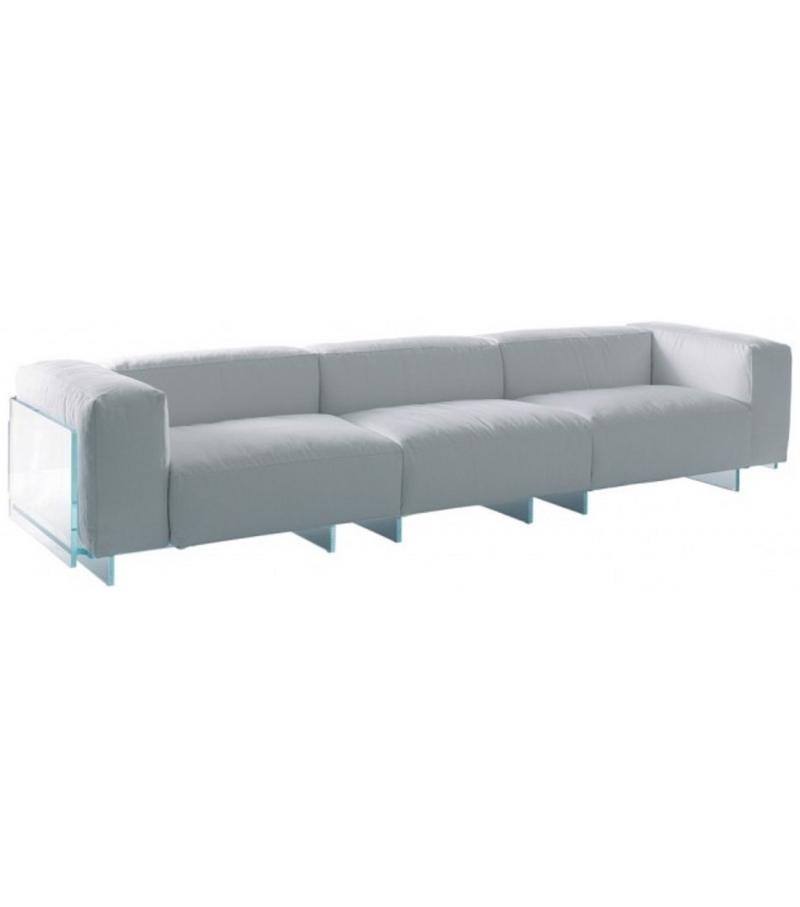 Crystal Lounge 3 Seater Sofa Glas Italia