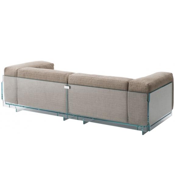 Crystal Lounge 2 Seater Sofa Glas Italia