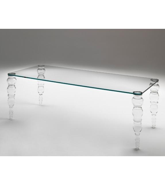 Post modern Glas Italia Tisch