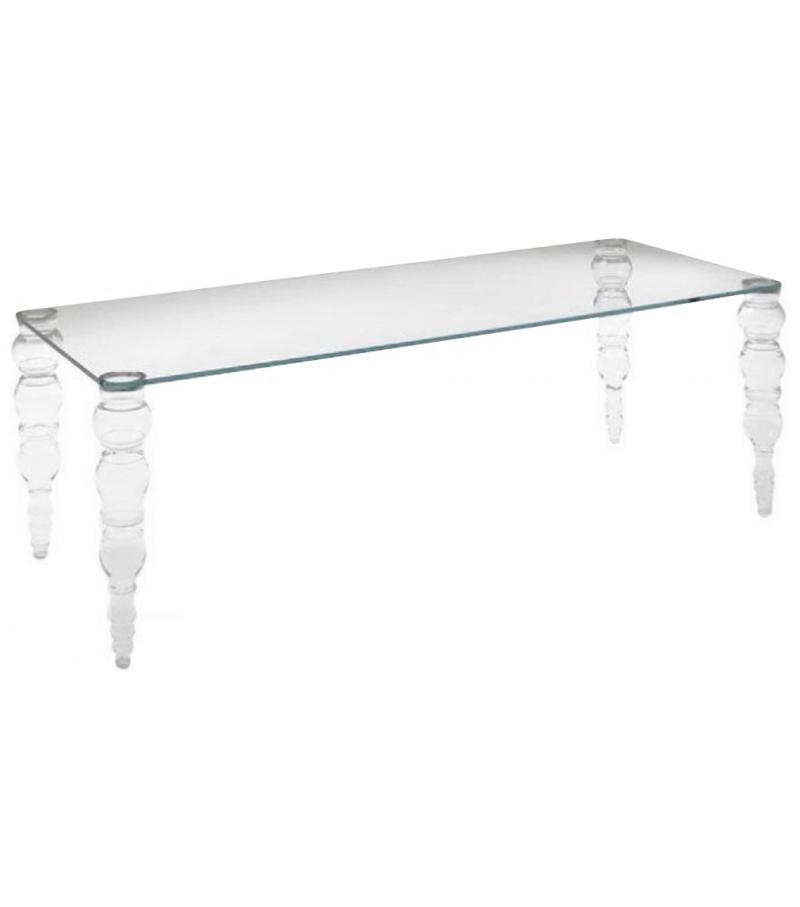 Post modern Glas Italia Table
