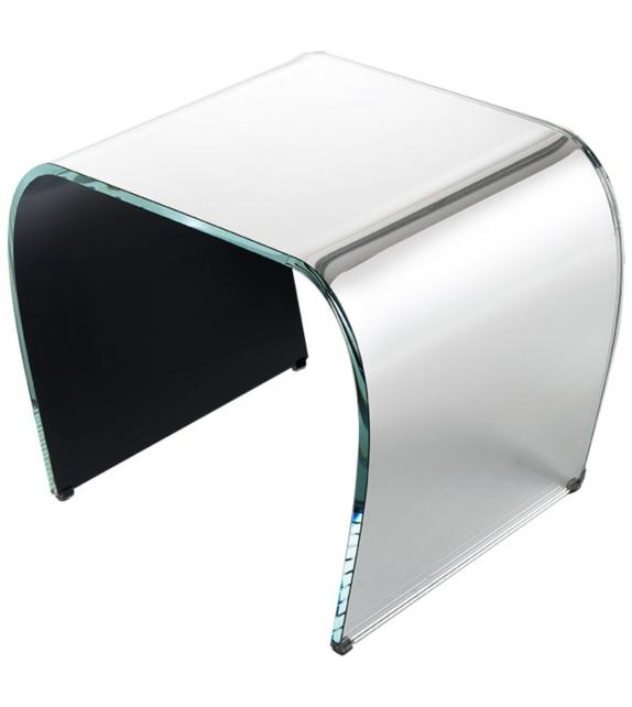 Bent Glass Glas Italia Hocker