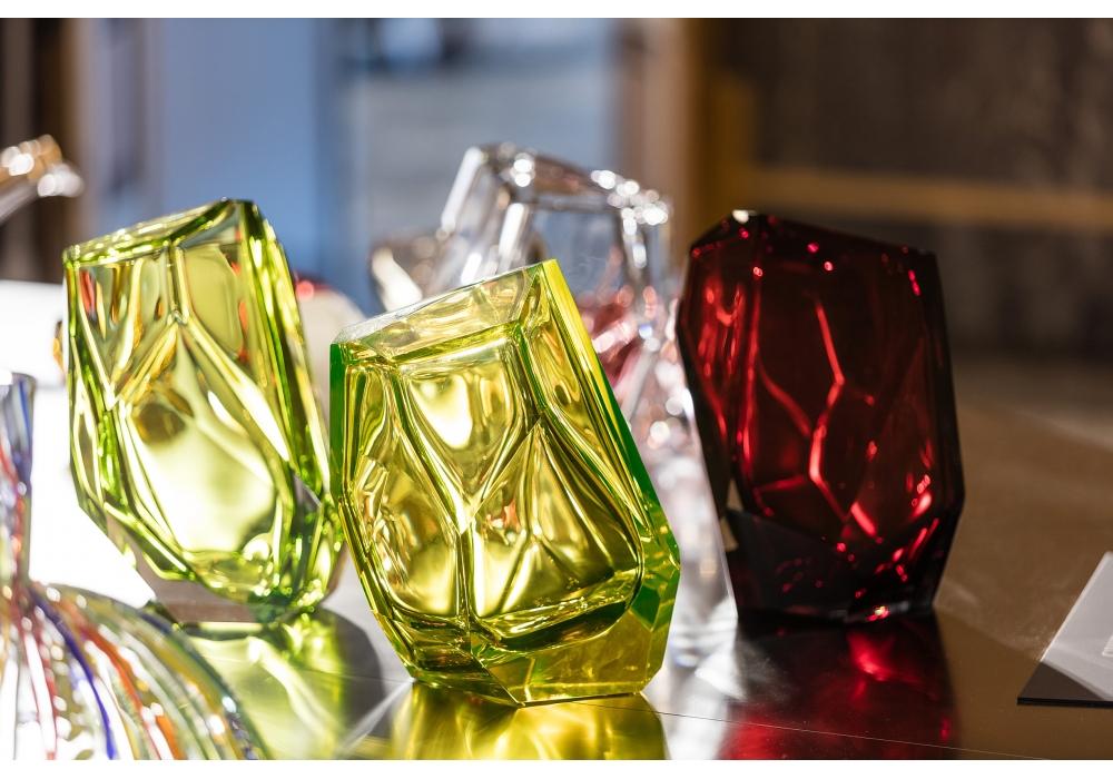 Crystal Rock Lasvit Vase Milia Shop