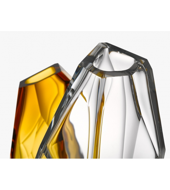 Crystal Rock Lasvit Vase