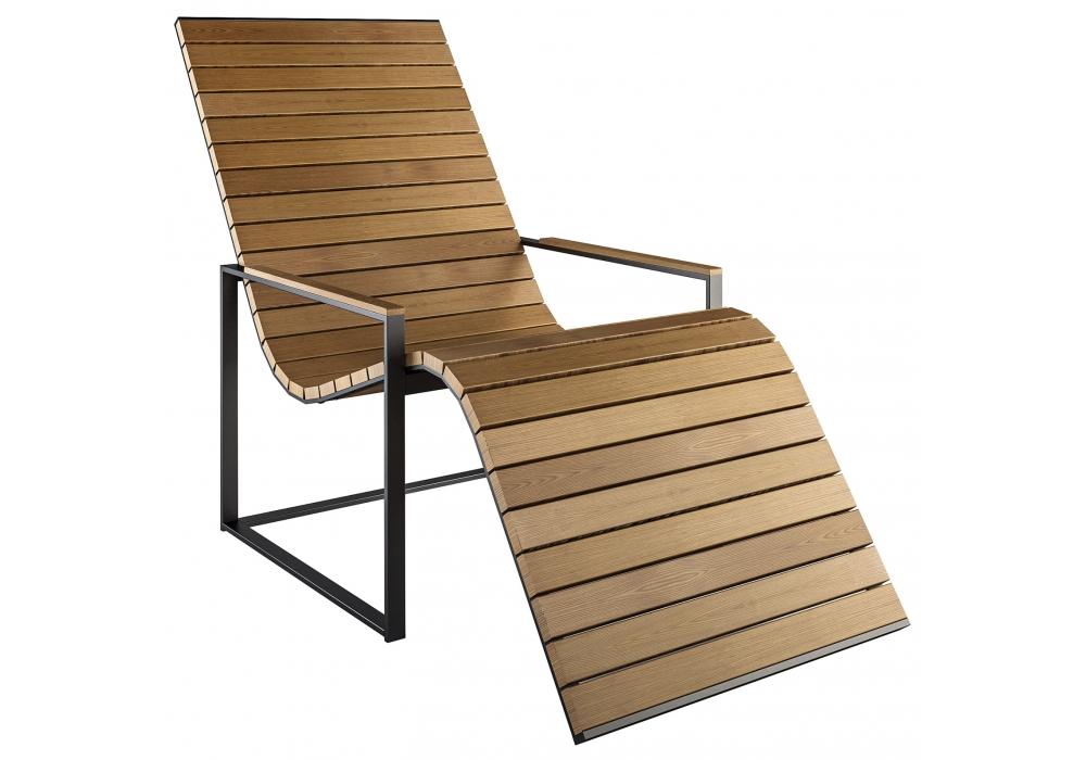 Garden sun chair r shults chaise longue milia shop for Garden chaise longue