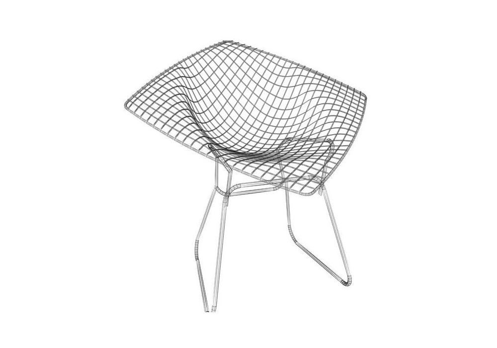 bertoia diamond chair knoll milia shop. Black Bedroom Furniture Sets. Home Design Ideas