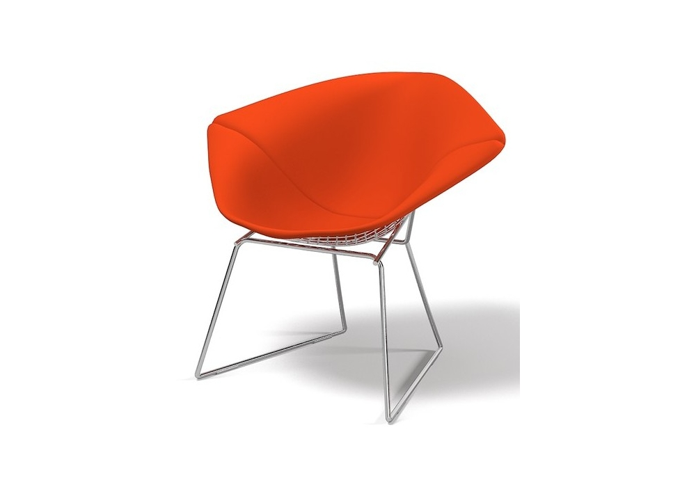 Bertoia diamond chair full cover knoll milia shop for Chaise bertoia knoll