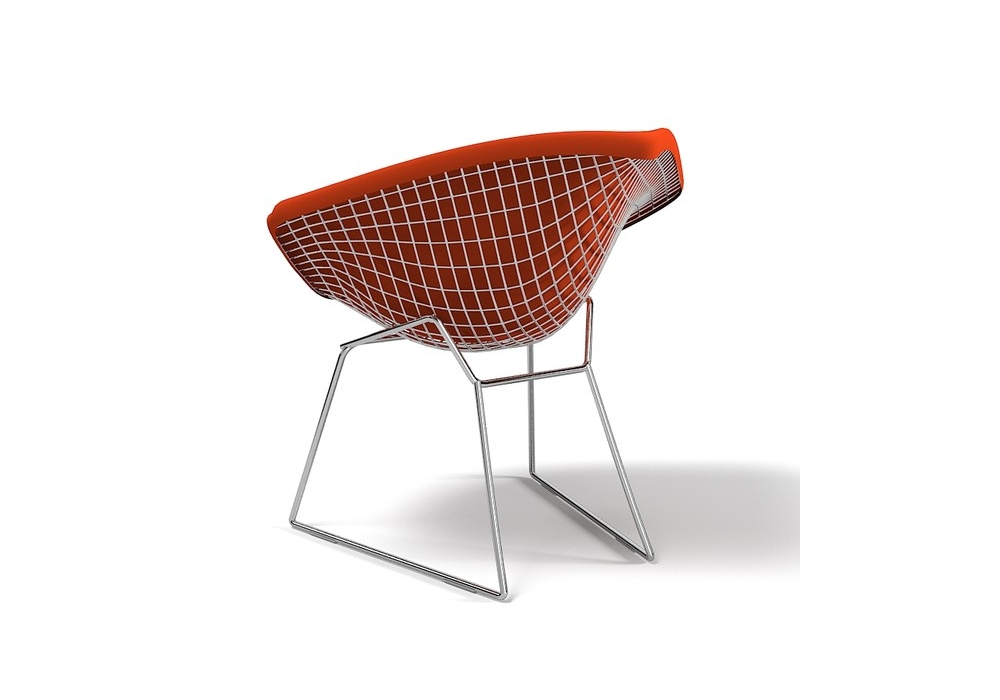 bertoia diamond chair fauteuil rembourr s knoll milia shop. Black Bedroom Furniture Sets. Home Design Ideas