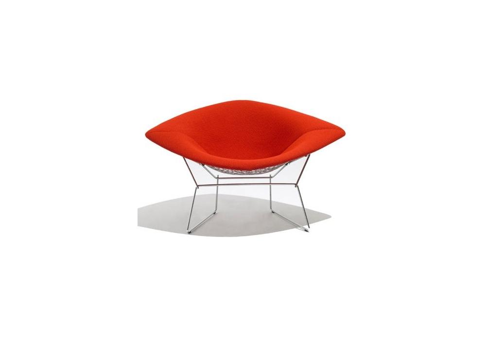 Gt armchairs amp chaise longue gt bertoia large diamond chair knoll