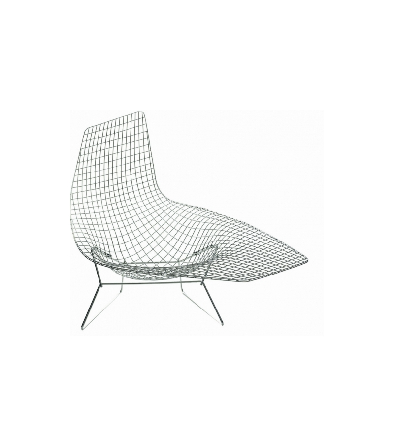Knoll bertoia armchair asymmetric milia shop for Chaise bertoia knoll