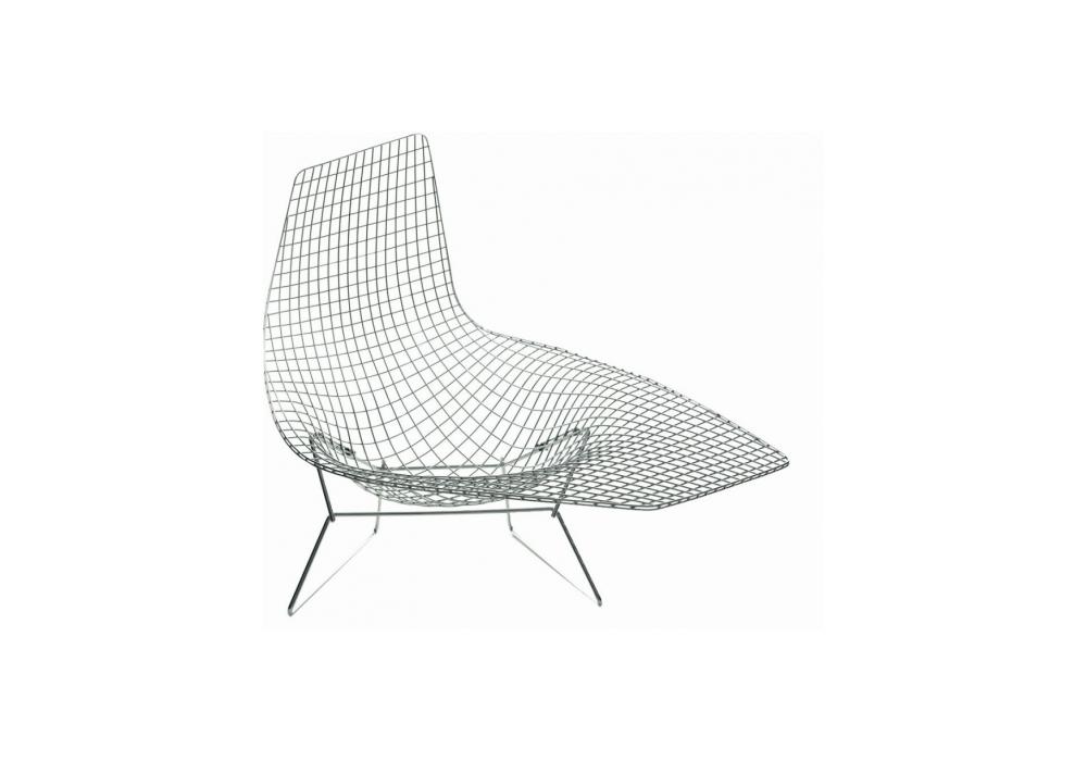 bertoia asymmetric armchair knoll milia shop. Black Bedroom Furniture Sets. Home Design Ideas