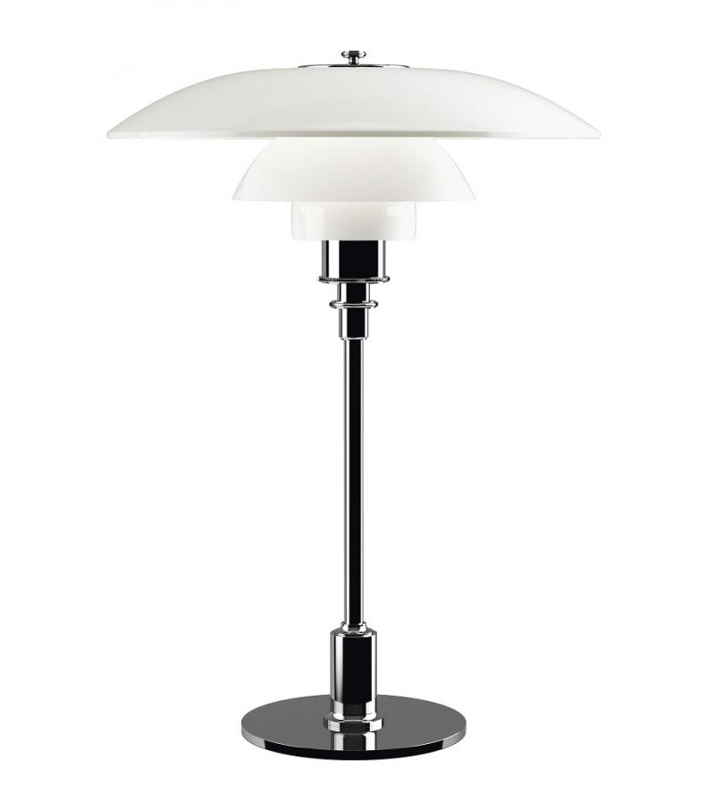 ph 3 2 glass louis poulsen table lamp milia shop. Black Bedroom Furniture Sets. Home Design Ideas