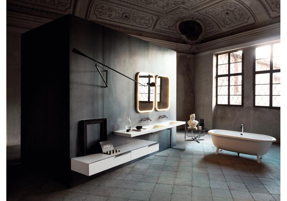 Ottocento agape vasca da bagno milia shop for Agape accessori bagno