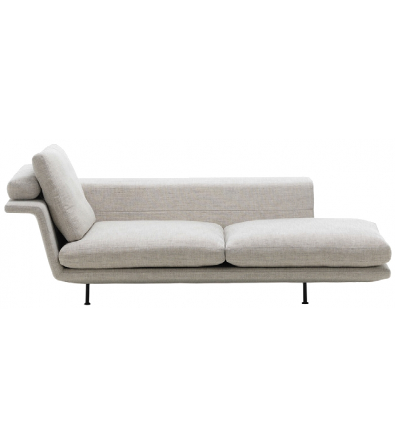 Grand sof vitra chaise longue milia shop for Sofa chaise longue