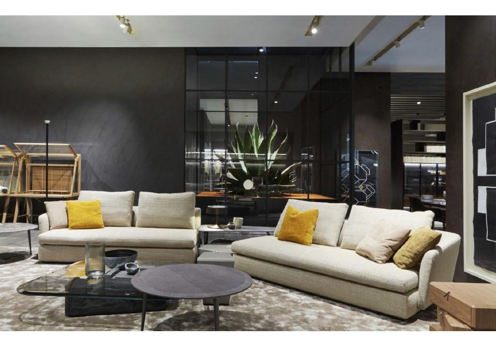 sloane molteni c sofa milia shop. Black Bedroom Furniture Sets. Home Design Ideas