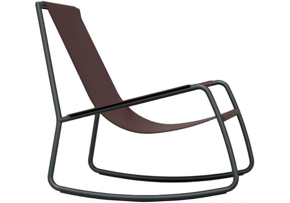 Flow living divani rocking chair milia shop for Chaise longue divani e divani