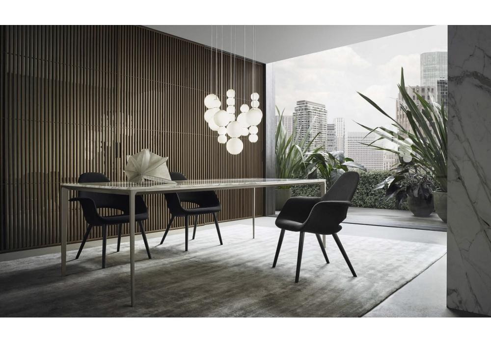 long island rimadesio table milia shop. Black Bedroom Furniture Sets. Home Design Ideas